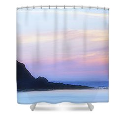 Peacefull Hues Shower Curtain by Mark Kiver