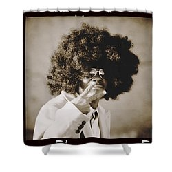Shower Curtain featuring the photograph Peaceman by Alice Gipson