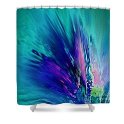 Peacock Paradise Shower Curtain
