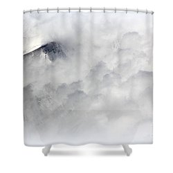 Peak A Boo Shower Curtain