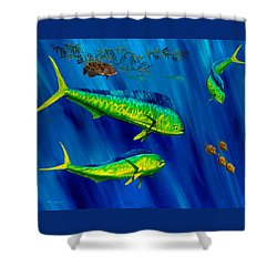 Peanut Gallery Shower Curtain