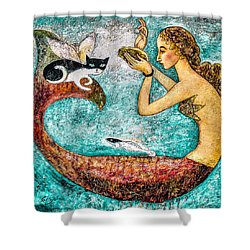 Pearl Shower Curtain by Shijun Munns