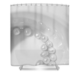 Pearls On A Cup Shower Curtain by Stelios Kleanthous