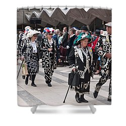 Pearly Kings And Queens Parade. Shower Curtain