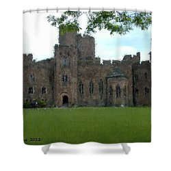 Peckforton Castle Shower Curtain