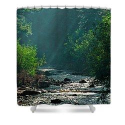Pecos River Spring Shower Curtain