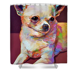 Pedro Shower Curtain by Robert Phelps