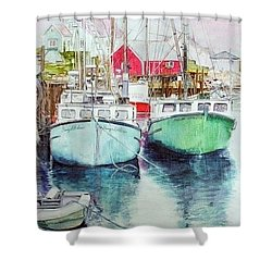 Peggy's Cove #3 Shower Curtain