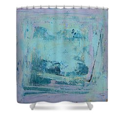 Peinture Abstraite Sans Titre 2 Shower Curtain