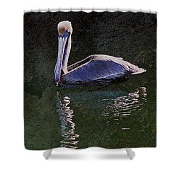 Pelican Zen Shower Curtain