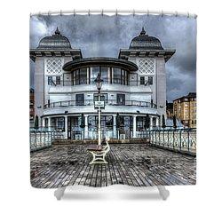 Penarth Pier Pavilion 2 Shower Curtain by Steve Purnell