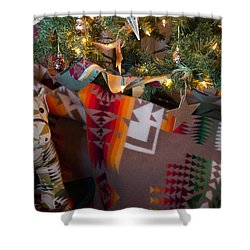 Pendleton Christmas Shower Curtain