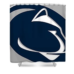 Penn State Nittany Lions Shower Curtain by Tony Rubino