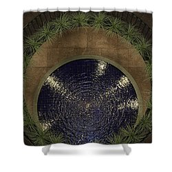 Pennies For Your Thoughts Shower Curtain by Lynn Palmer