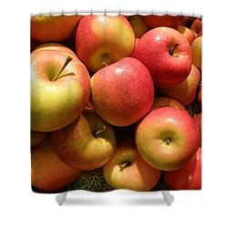 Pennsylvania Apples Shower Curtain