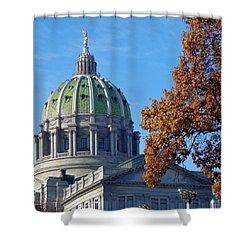Pennsylvania Capitol Building Shower Curtain