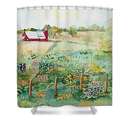 Pennsylvania Pasture Shower Curtain
