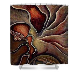 Pentecost Of Humanity Shower Curtain