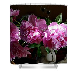 Peonies2 Shower Curtain