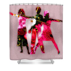 People Fashion Shower Curtain