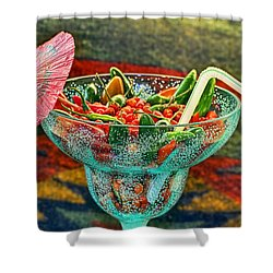 Shower Curtain featuring the photograph Pepperita by Gary Holmes