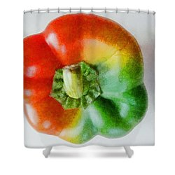 Peppery Allsorts  Shower Curtain