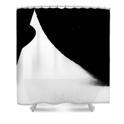Percentage  Shower Curtain by Fei Alexander