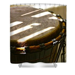 Percussion Light Shower Curtain