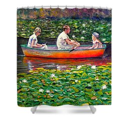 Perfect Afternoon Shower Curtain by Michael Durst