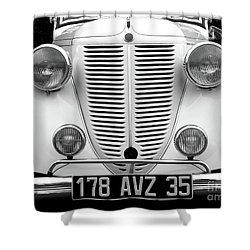 Perfect Bw Shower Curtain by Newel Hunter