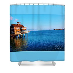 Shower Curtain featuring the photograph Perfect Day In San Diego by Jasna Gopic