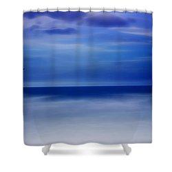 Perfect Harmony Shower Curtain by Ellen Heaverlo