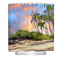 Perfect Moment Shower Curtain by Dominic Piperata
