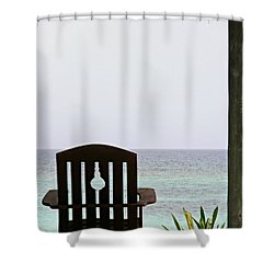Perfect Resting Spot Shower Curtain by Kimberly Perry