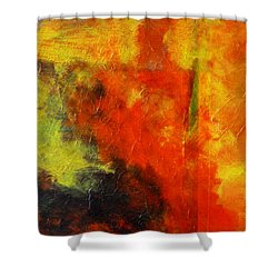Perfect Storm Shower Curtain by Nancy Merkle