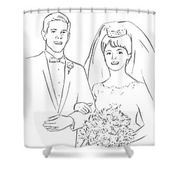 Perfect Wedding Shower Curtain