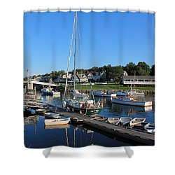 Perkins Cove Ogunquit Maine 2 Shower Curtain