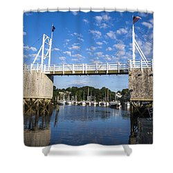Perkins Cove - Maine Shower Curtain