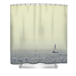 Perpetual - Santa Cruz, California Shower Curtain