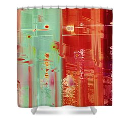 Perplexity-no2 Shower Curtain