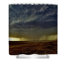 Perryton Supercell Shower Curtain