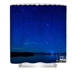 Perseid Meteor Shower Curtain by Charles Hite