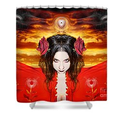 Shower Curtain featuring the photograph Persephone Do I Invoke by Heather King