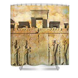Persepolis  Shower Curtain by Catf