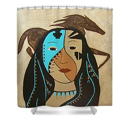 Perseverance Of The Mare And Maiden Shower Curtain