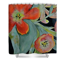 Persevere Shower Curtain by Beverley Harper Tinsley