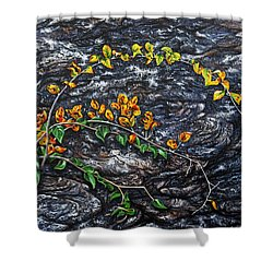 Persistence Shower Curtain by Craig T Burgwardt
