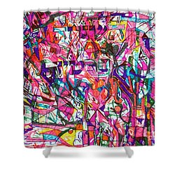 Personal Providence Shower Curtain by David Baruch Wolk