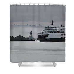 Perspective Is Everything Shower Curtain