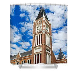 Shower Curtain featuring the photograph Perth Town Hall by Yew Kwang